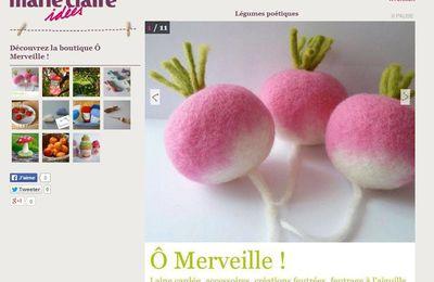 La boutique Ô Merveille sur marieclaireidées.com