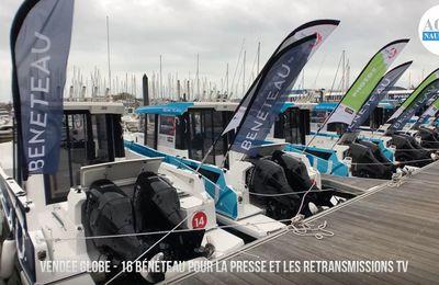 Vendée Globe 2020 - 16 Bénéteau pour la presse et les retransmissions TV-radio