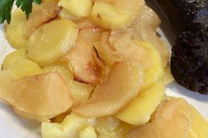 Boudin aux deux pommes à l'omnicuiseur