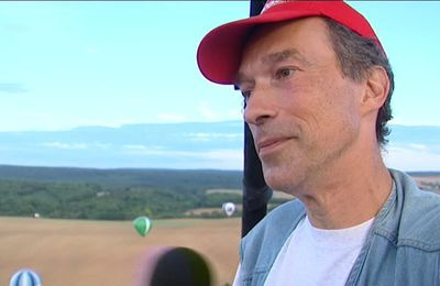 Mondial Air Ballons : Eric Lorinet, être plus près des cieux