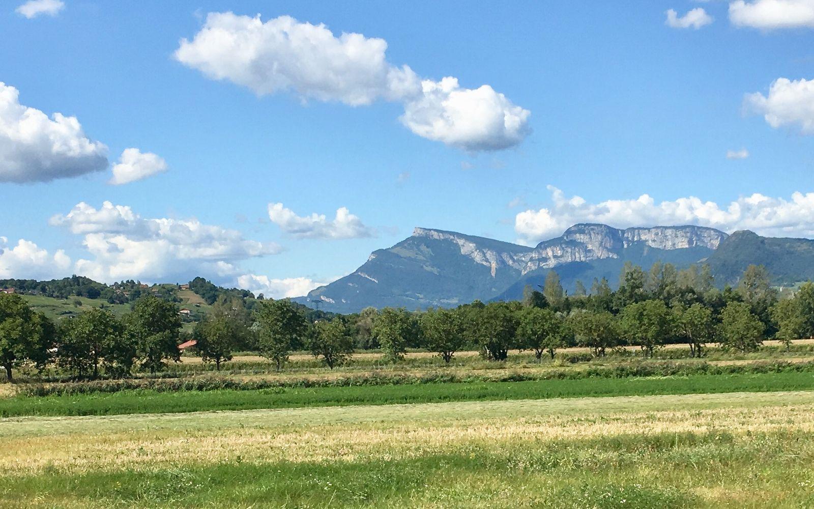 Depuis Chapareillan, je me vois rentrer à Chambéry mon Amour : j'arrive Maman !