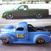 40 FORD PICKUP 40 FORD TRUCK CUSTOM HOT WHEELS 1/64 - car-collector.net