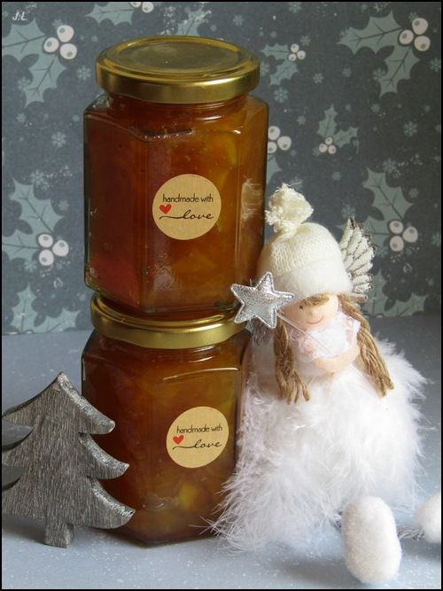 Confiture mangue-épices