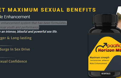Surge in Sex Drive with Pacific Horizon ME Pills! Buy