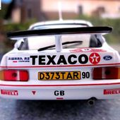 FASCICULE N°58 FORD SIERRA RS COSWORTH 1987 MONTE CARLO - KALLE GRUNDEL / TERRY HARRYMAN. - car-collector.net