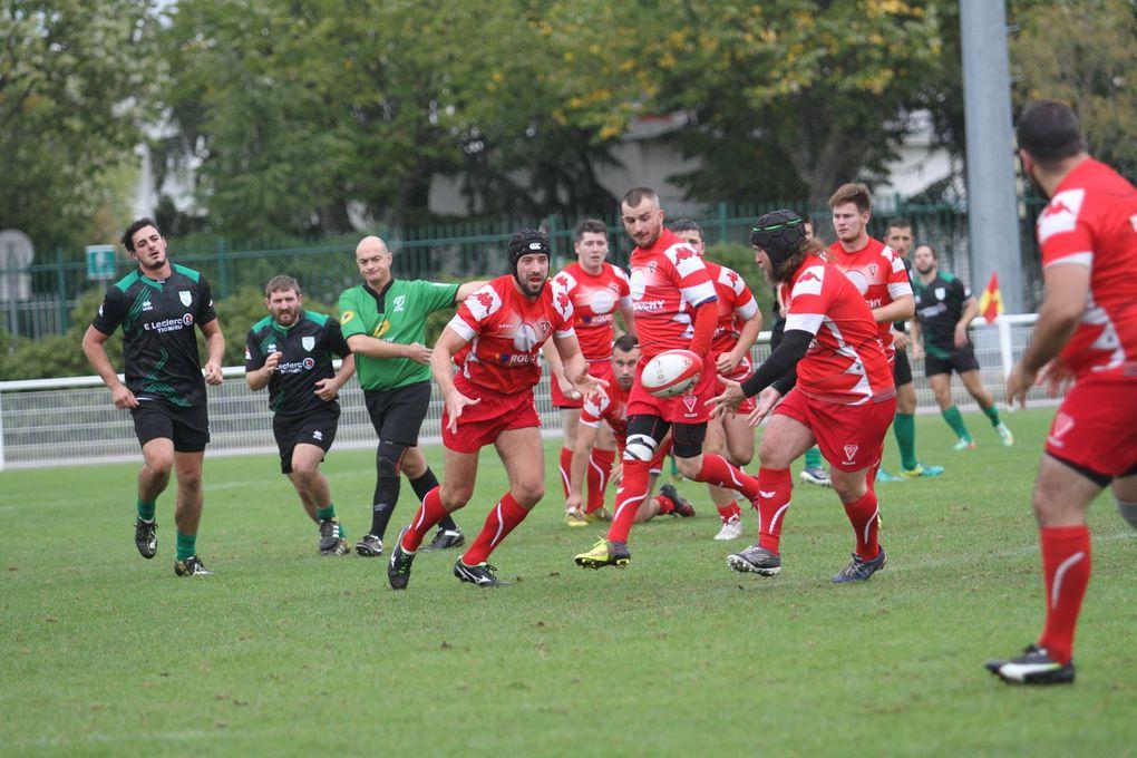 Les rugbymen de l'US Vénissieux n'ont pas tenu la distance face aux Pontois