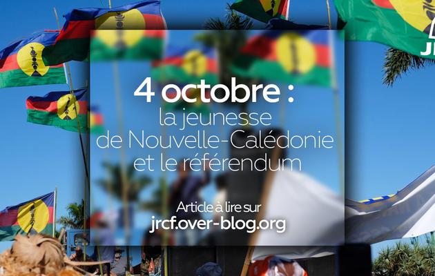 4 octobre  : la jeunesse de Nouvelle-Calédonie et le référendum