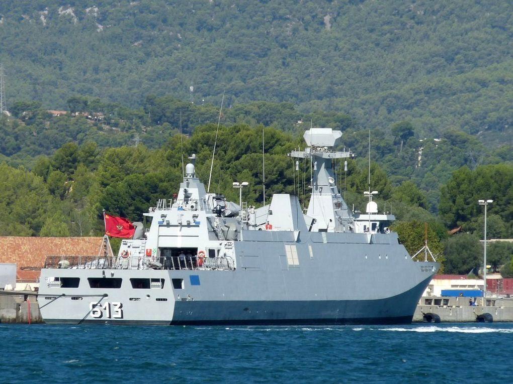 TARIK BEN ZIYAD  613 , frégate de la marine royale marocaine