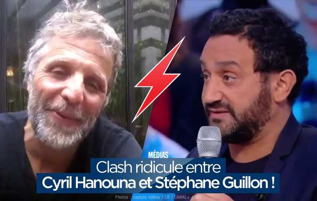 Clash ridicule entre Cyril Hanouna et Stéphane Guillon ! #TPMP
