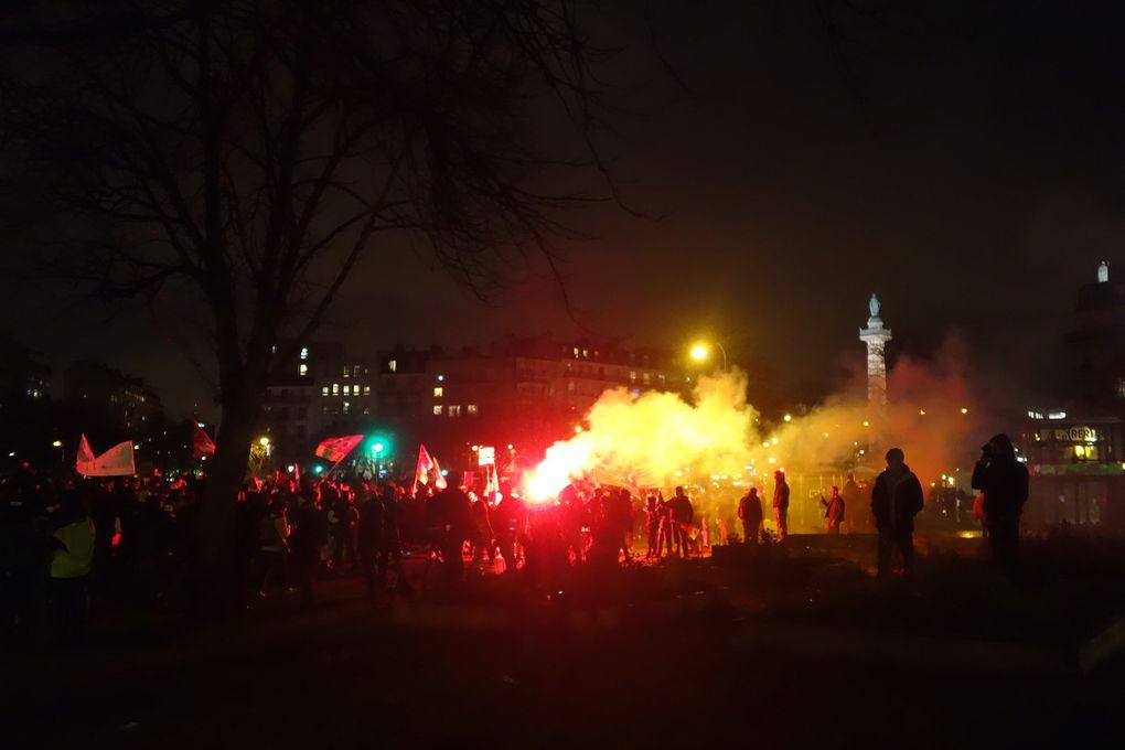 Manifestation contre la réforme des retraites, le 17 décembre 2019 à Paris. Là encore, diverses revendications sont venues rejoindre les cortèges de protestation contre la réforme.