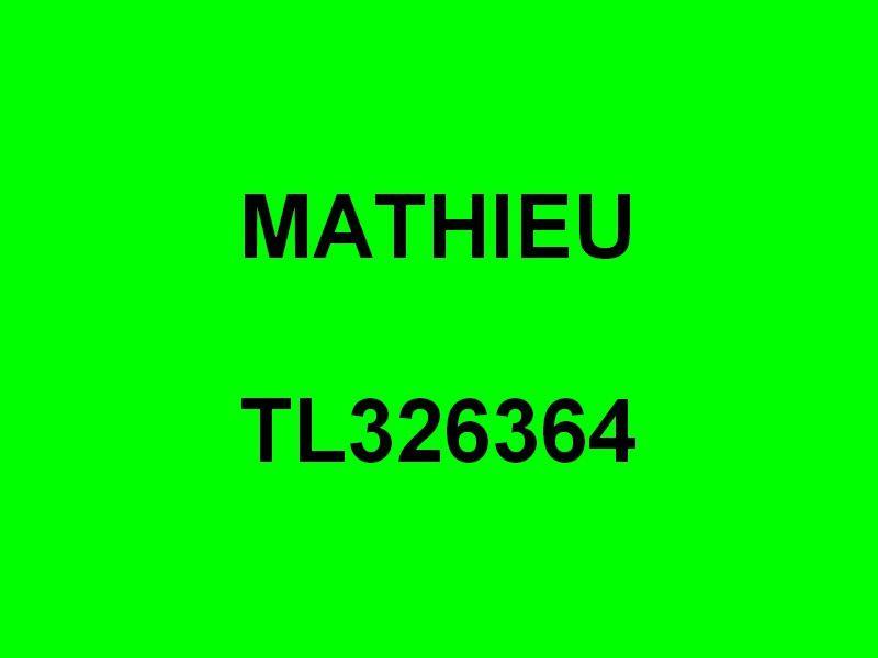 MATHIEU  , TL 326364 , dans le port de Sanary le 12 mai 2014
