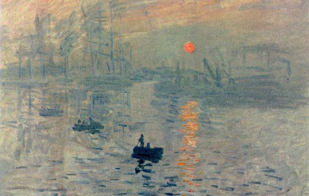 Claude Monet. Impression, Sonnenaufgang.1872, Öl auf Leinwand, 48 × 63cm. Paris, Musée Marmottan.Landschaftsmalerei.Frankreich.Impressionismus. KO 00630