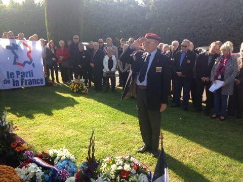 Le PdF 13 commémore les victimes de la guerre d'Algérie à Marignane