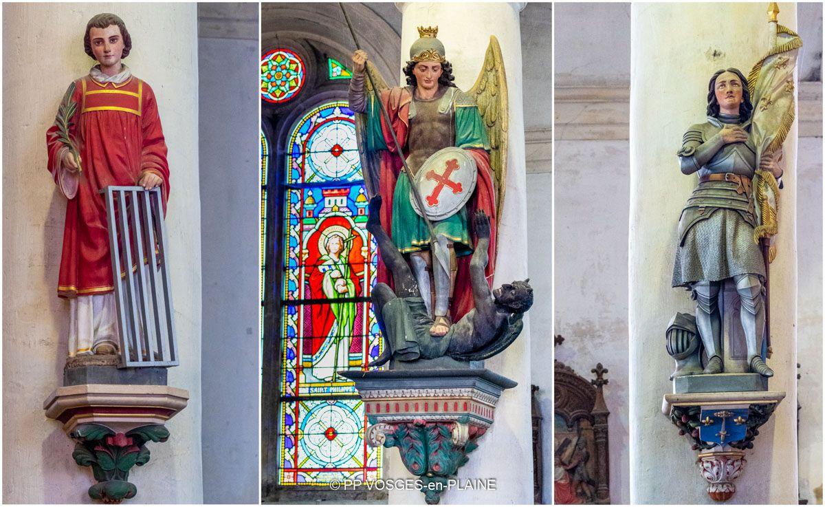 Journées du Patrimoine 2021 dans la Plaine des Vosges : l'église de VAUBEXY et les peintures de Louis Guingot
