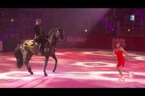 La patineuse et le chevalier