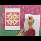 Comment calculer le tissu nécessaire pour un patchwork?