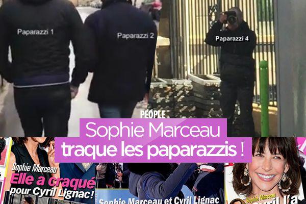 Sophie Marceau traque les paparazzis ! #Revanche