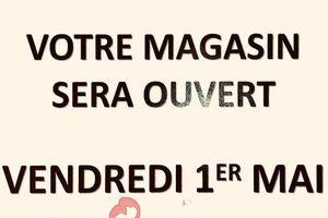 1er mai ouverture  de votre Magasin SPAR partenaire de Fréquence Montmerle Ain ( FMA)