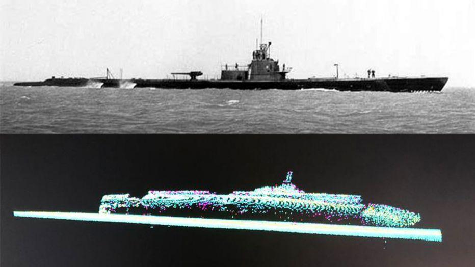 Un sous-marin américain de la Seconde guerre mondiale retrouvé au large du Japon