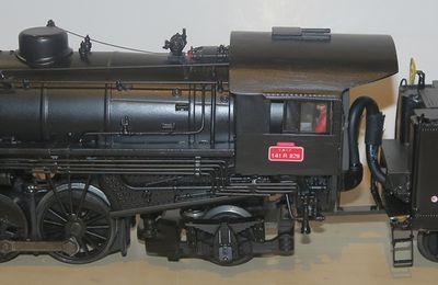 Une Light Mikado devient une 141 R SNCF