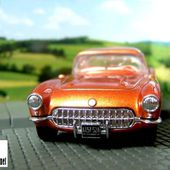 CHEVROLET CORVETTE 1956 MATCHBOX DINKY 1/43 - car-collector.net