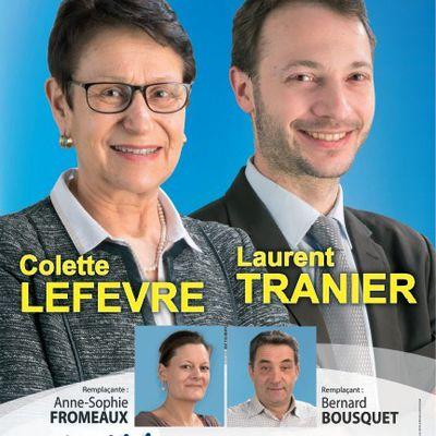 Colette LEFEVRE et Laurent TRANIER