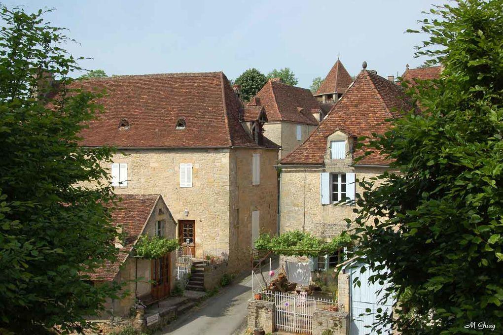 Au confluent entre la Vézère et la Dordogne en Périgord Noir. Mai 2011
