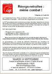 Tract 10 septembre départemental à La Poste