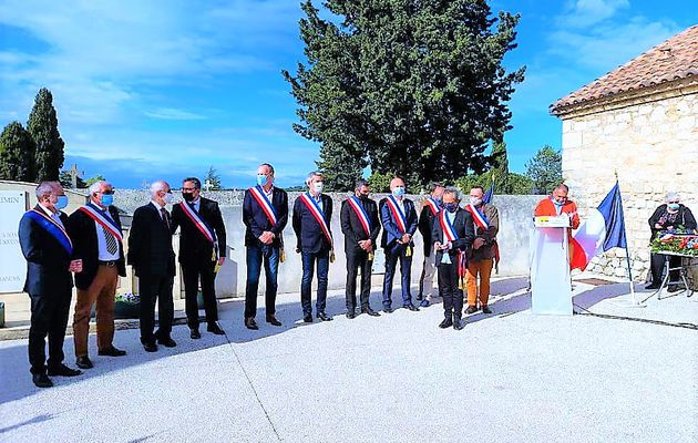 Commémoration nationale de l'abandon des Harkis à  à Rians, Saint Maximin, (83)