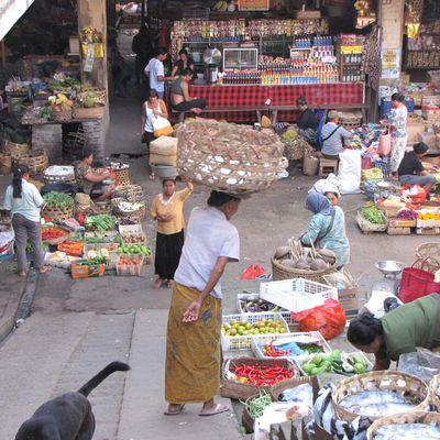 """Le marché d'Ubud """"Pasar Ubud"""