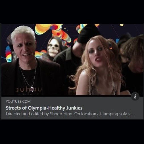 🎵 New Video - HEALTHY JUNKIES 'Streets of Olympia' out now
