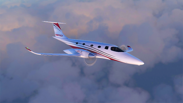 bye aerospace eFlyer 800 all-electric twin turboprop class airplane