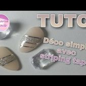 TUTO déco simple + coller du striping tape