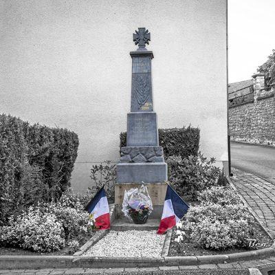 Germigny : Village détruit en mai 1918