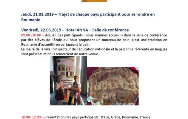SMO19 Rapport du stage de formation roumain