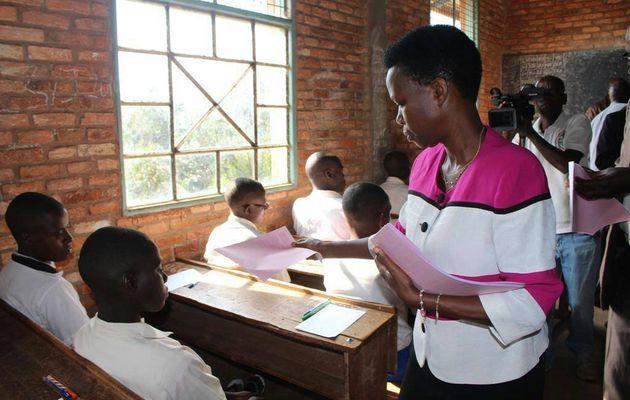 Passation du concours national, édition 2018, en mairie de Bujumbura