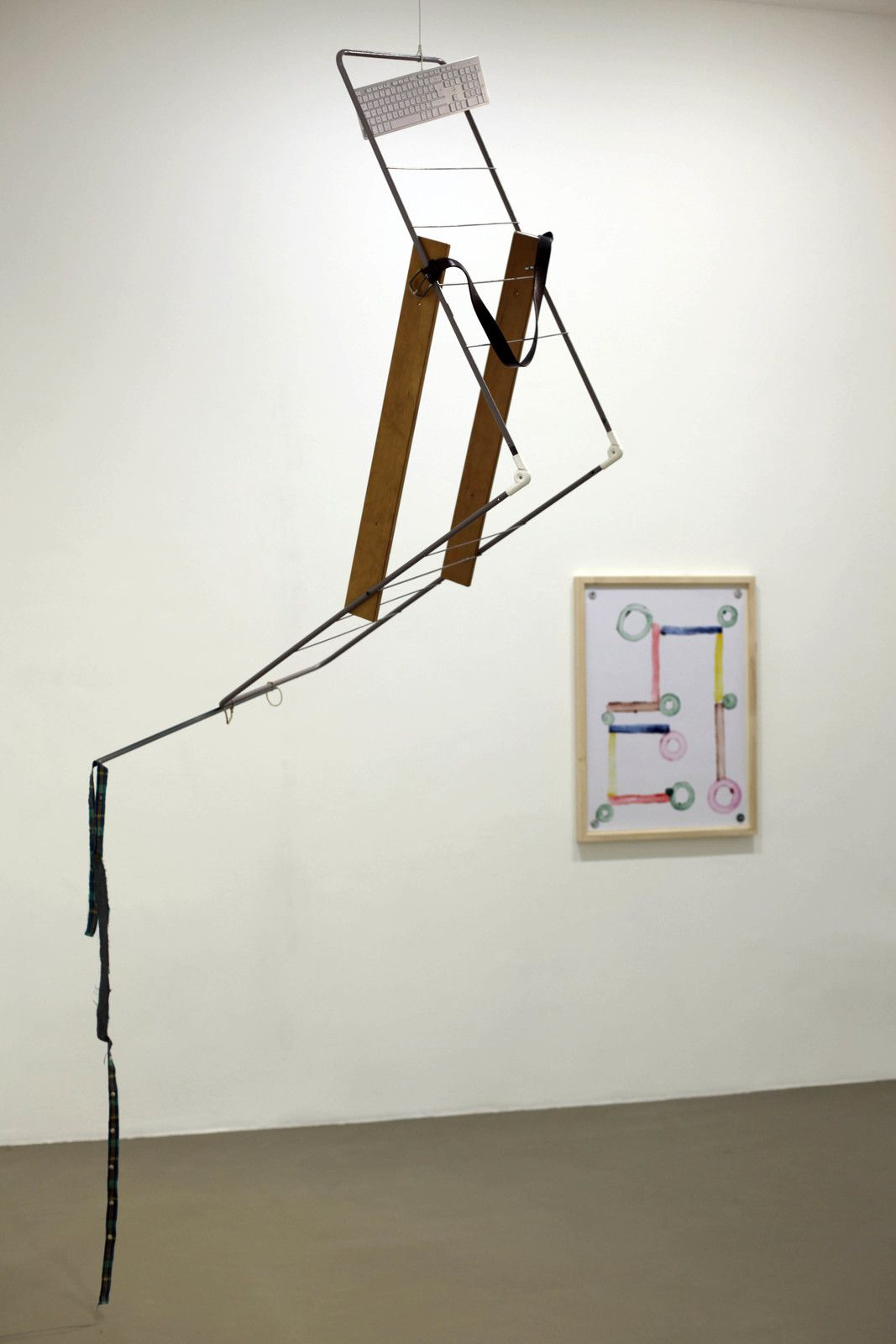 """""""Untitled Portable Sculpture (La Señora de Las Nueces)"""", 2020 de Abraham CRUZVILLEGAS - Courtesy de l'artiste et de la Galerie Chantal Crousel © Photo Éric Simon"""
