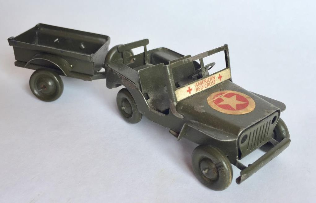 Diaporama 3 : les Jeep American Red Cross