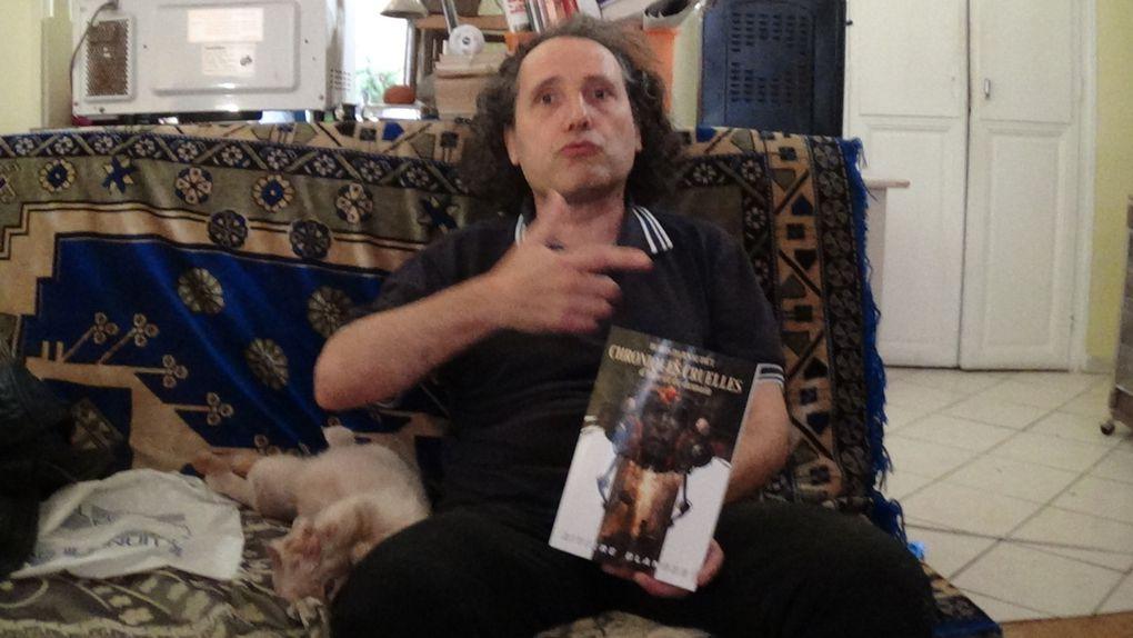 Livre: Chroniques cruelles d'hier et de demain l'intégrale de Boris Darnaudet! Interview de François Darnaudet par Nicolas Caudeville