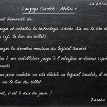 #TutorielScratch - Initiation à la programmation : Atelier#1 - Téléchargement & installation