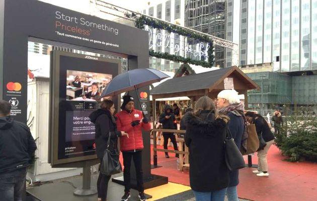 Innovation high-tech : des bornes à dons «NFC» dans Paris !