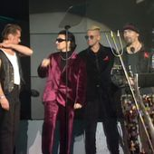 U2 -BRIT Awards -Alexandra Palace -Londres -Angleterre 16/02/1993 - U2 BLOG