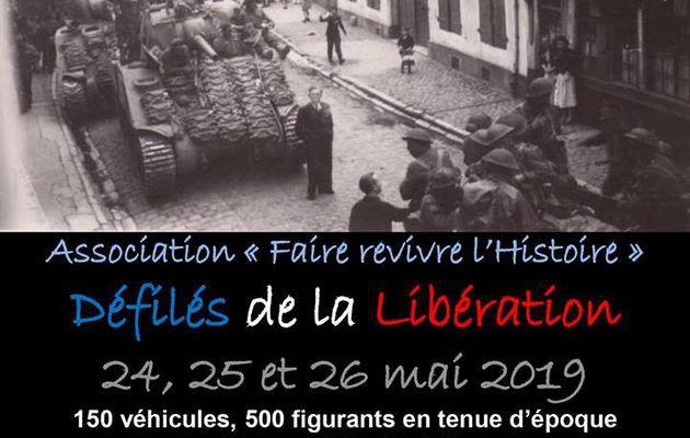 LE DÉFILÉ DE LA LIBÉRATION...C'EST CE WEEK-END...DANS LE MONTREUILLOIS...