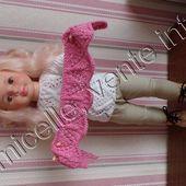 tuto gratuit poupée : étole - Chez Laramicelle