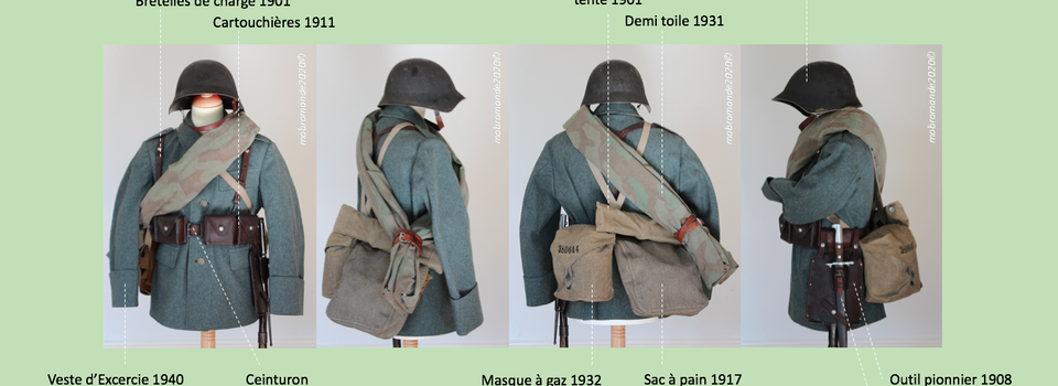 Uniformologie -Tenue Ex. Bat.Fus.Fr 1943
