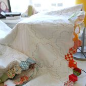 Finishing Your Hexagon Quilts Tutorial