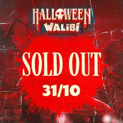 Walibi Belgium affiche complet ce dimanche 31 octobre