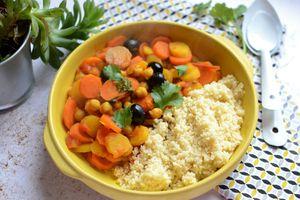Tagine de carottes #végétarien