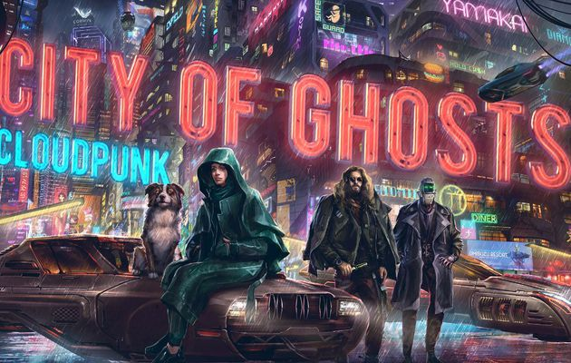 [ACTUALITE] Cloudpunk - City of Ghosts, le premier DLC annoncé