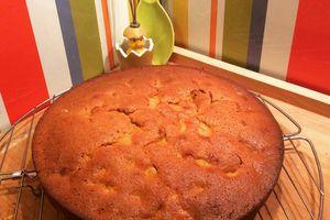 Mon gâteau caramel beurre salé et abricots